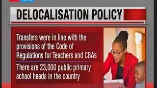 KNUT faults CS Matiangi's delocolization of teachers policy