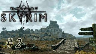 Приключение TES: Skyrim: #2 Добираемся до Вайтрана. Дополнительные квесты
