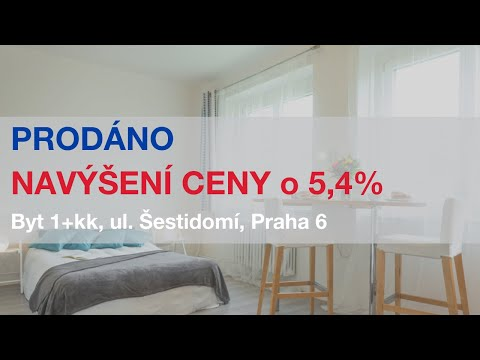 Video Prodej bytu 1+kk v osobním vlastnictví 24 m², Praha 6 - Bubeneč