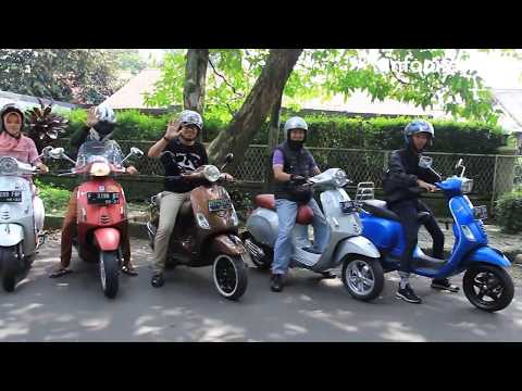 Komunitas Modern Vespa Bogor