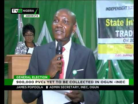 900,000 PVCs yet to be collected in Ogun