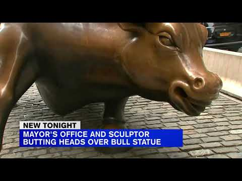Beloved Charging Bull statue is moving from longtime home