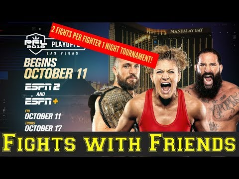 PFL Playoffs begin! Kayla Harrison, Ray Cooper III and more.One Million Dollars!
