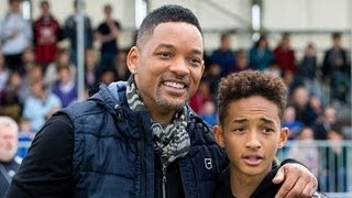Will Smith and Jaden Smith Rap Fresh Prince of Bel Air Theme Song | POPSUGAR News