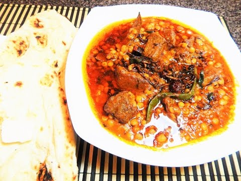 Restaurant Style Chaanay Ki Dal Gosht
