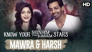 Sanam Teri Kasam Special Know Your Stars Harsh Mawra  Various