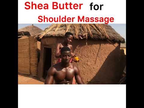 Shea Butter for Shoulder Massage