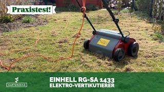Einhell Elektro-Vertikutierer-Lüfter RG-SA 1433 im Test!