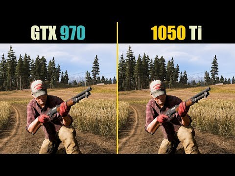 GTX 970 vs. GTX 1050 Ti (Test in 10 Games)