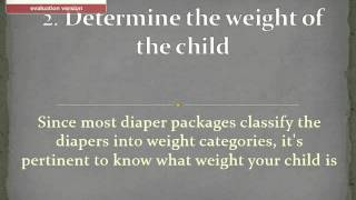 How to Choose a Baby Diaper Size: 5 Steps