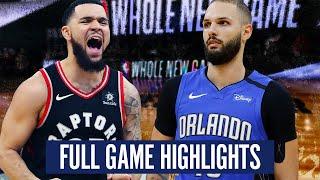 TORONTO  RAPTORS VS  ORLANDO MAGIC - FULL GAME HIGHLIGHTS | 2019-20 NBA SEASON