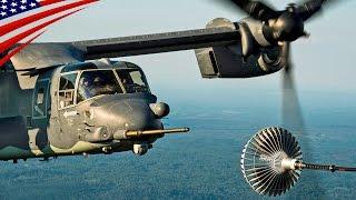 Special Operations Squadron's CV-22 Osprey Day & Night Air Refuel - CV-22オスプレイ(空軍型・特殊作戦用)の日中&夜間空中給油