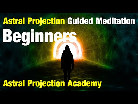Astral projection | guided meditation for OBE and lucid dreaming