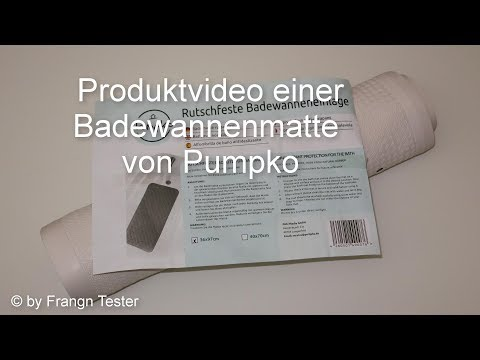 Naturkautschuk Badewannenmatte - von Pumpko