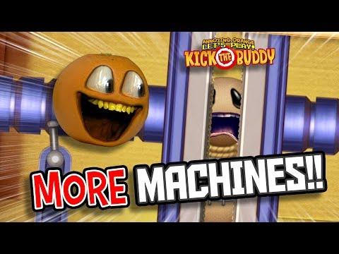 MORE Machines!! | Kick the Buddy #2