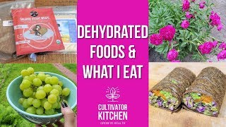 #RawFoodJune Dehydrated Foods On A Raw Vegan Diet & What I Eat In A Day