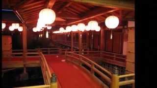 京都 歌舞練場 建具 灰汁洗い
