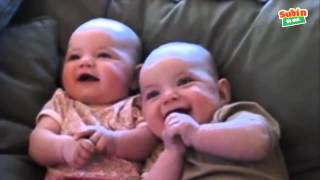 Hài hước với trẻ em - Tiếng em bé cười sáng khoái