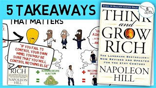 THINK AND GROW RICH SUMMARY (BY NAPOLEON HILL)