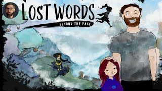 Youtube thumbnail for Lost Words: Beyond the page review | Story focused 2d platformer