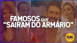 FAMOSOS GAYS QUE SAIRAM DO ARMÁRIO • POLÍTICOS, HUMORISTA, CANTORA, ATOR...