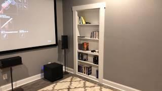 DIY Secret Bookshelf Murphy Door
