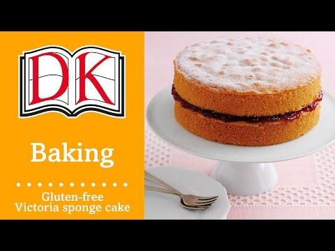 Video Gluten Free Recipes: Victoria Sponge Cake
