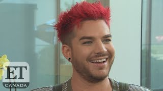 Adam Lambert Talks Touring With Queen, New Song 'Two Fux' | EXTENDED