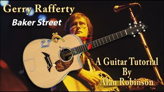 Baker Street - Gerry Rafferty - Acoustic Guitar Lesson (2020 version Ft. my son Jason on lead etc.)