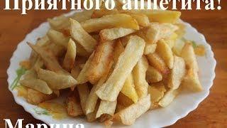 Смотреть онлайн Как приготовить домашнюю картошку фри в мультиварке
