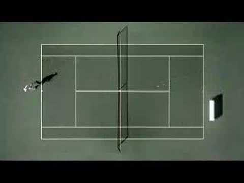 Andy Roddick vs. Pong