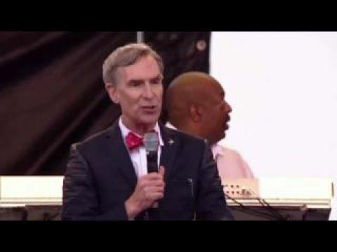 Bill Nye takes aim at climate change deniers