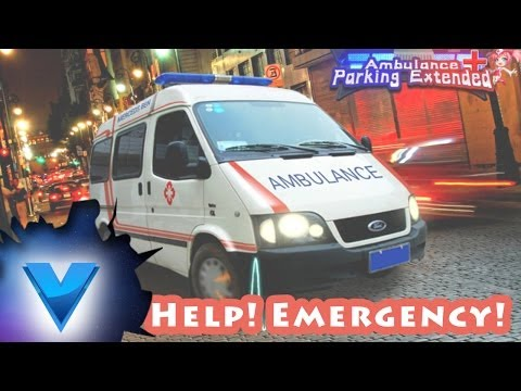 Ambulance Parking 3D Extended video