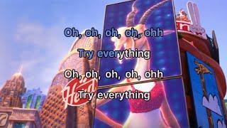 Shakira - Try Everything Karaoke (Zootopia)