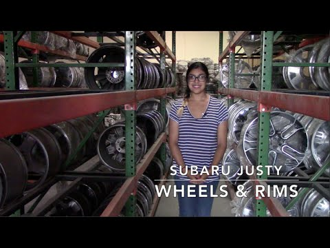 Factory Original Subaru Justy Wheels & Subaru Justy Rims – OriginalWheels.com