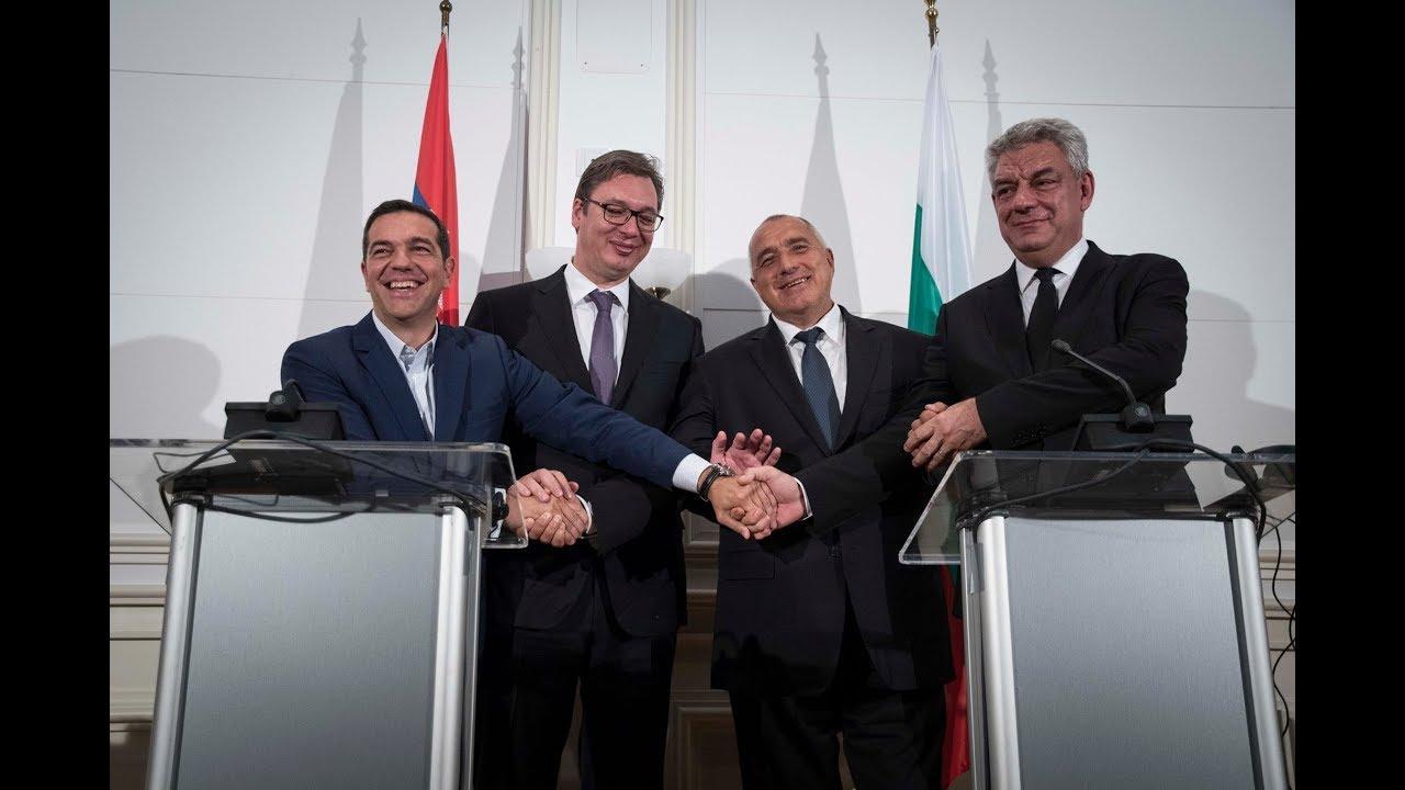 Δηλώσεις στην 1η Τετραμερή Σύνοδο Ελλάδας – Βουλγαρίας – Σερβίας – Ρουμανίας