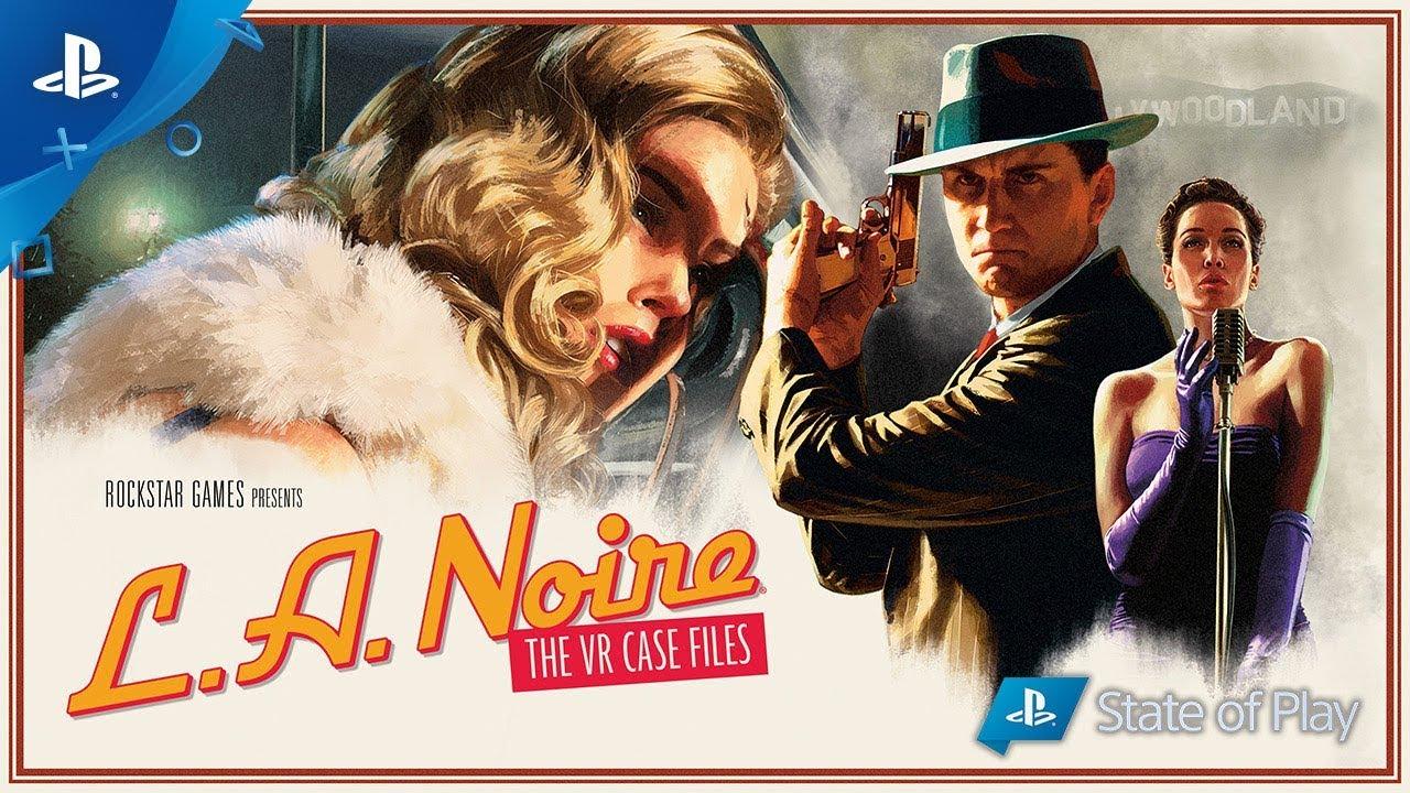 L.A. Noire: The VR Case Files Já Disponível Para PS VR