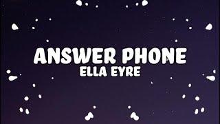 Ella Eyre, Banx & Ranx - Answerphone (Lyrics) ft. Yxng Bane