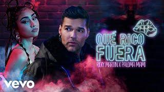 Kadr z teledysku Qué Rico Fuera tekst piosenki Ricky Martin