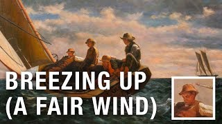 Breezing Up - Winslow Homer   Oil Painting Reproduction on Canvas