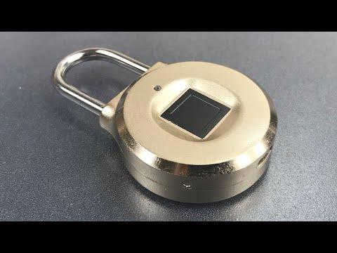 [699] Uervoton Fingerprint Padlock Opened With a Screwdriver!!!