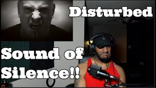Disturbed - The Sound Of Silence [Official Music Video] ( REACTION )