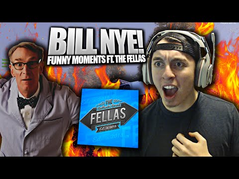 BILL NYE! - FUNNY MOMENTS FT. THE FELLAS