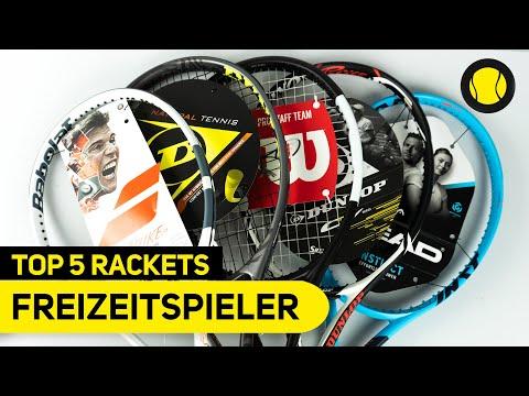 Top 5 Rackets für Freizeitspieler   Hands-On   Tennis-Point