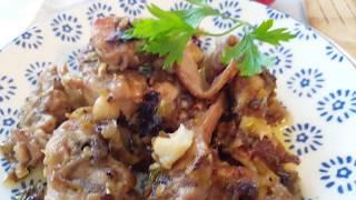 Conejo al ajillo , la receta mas buena del mundo || cocina con rock