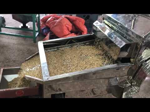Máy tách sạn hạt điều Đông Hải 1,5 tấn/h