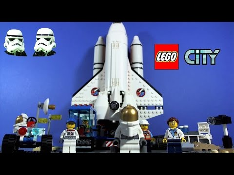 Vidéo LEGO City 60077 : Ensemble de démarrage de l'espace