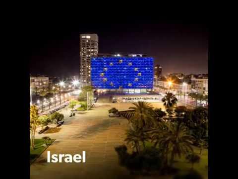 Landmarks shine in blue for Europe Day 2018