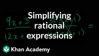 Simplifying Rational Expressions Introduction