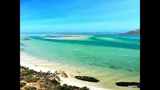 Learning to fly - Drone at Langebaan, Cape Town, South Africa